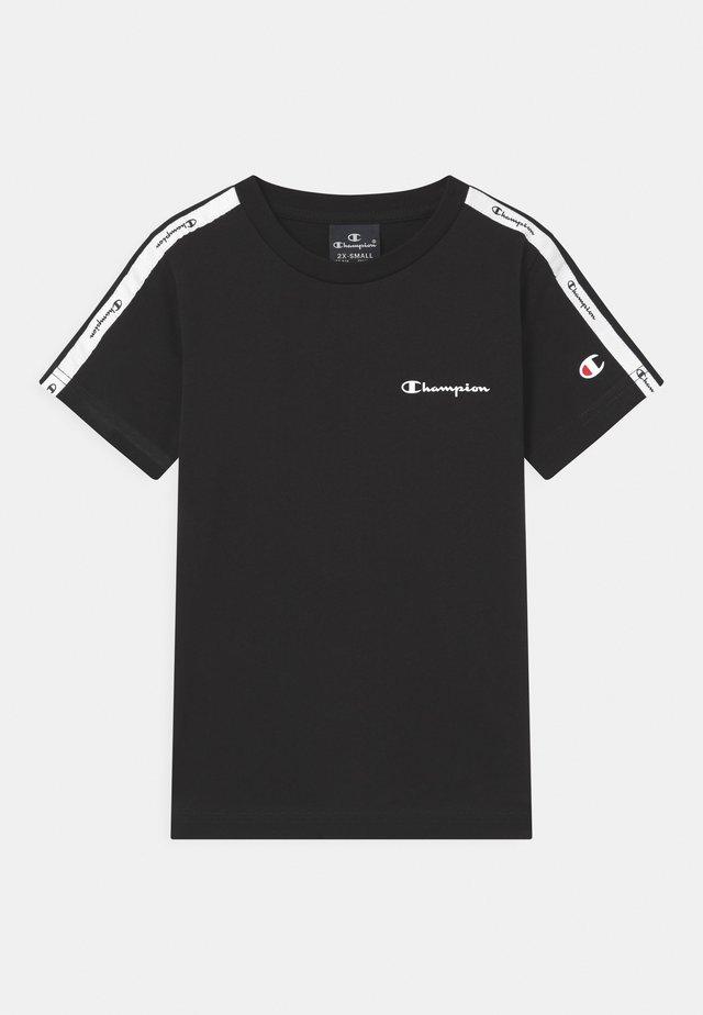AMERICAN CREWNECK UNISEX - T-shirt imprimé - black