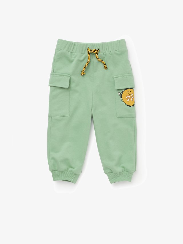 BEE GREEN JOGER - Cargo trousers - green