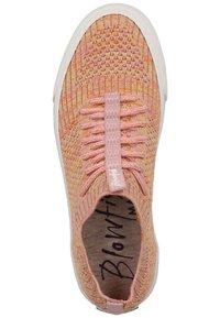 Blowfish Malibu - Trainers - dusty pink rainbow weave 616 - 3