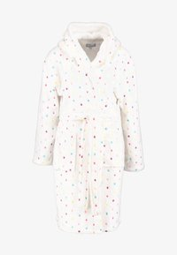 Loungeable - MULTI SPOT HOODED ROBE - Accappatoio - cream - 4