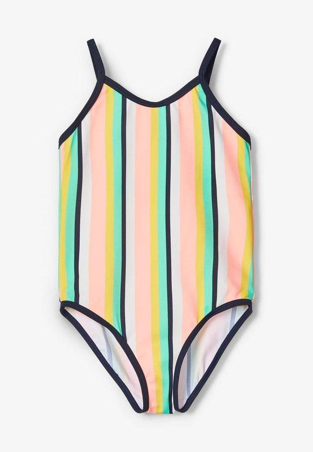 Swimsuit - neon salmon rose