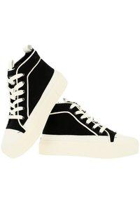 KENDALL + KYLIE - Sneakers hoog - black-white - 5