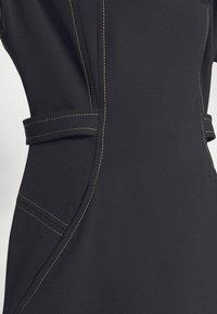 Alberta Ferretti - DRESS - Tubino - black - 4