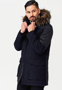 INDICODE JEANS - Winter coat - navy mix - 4