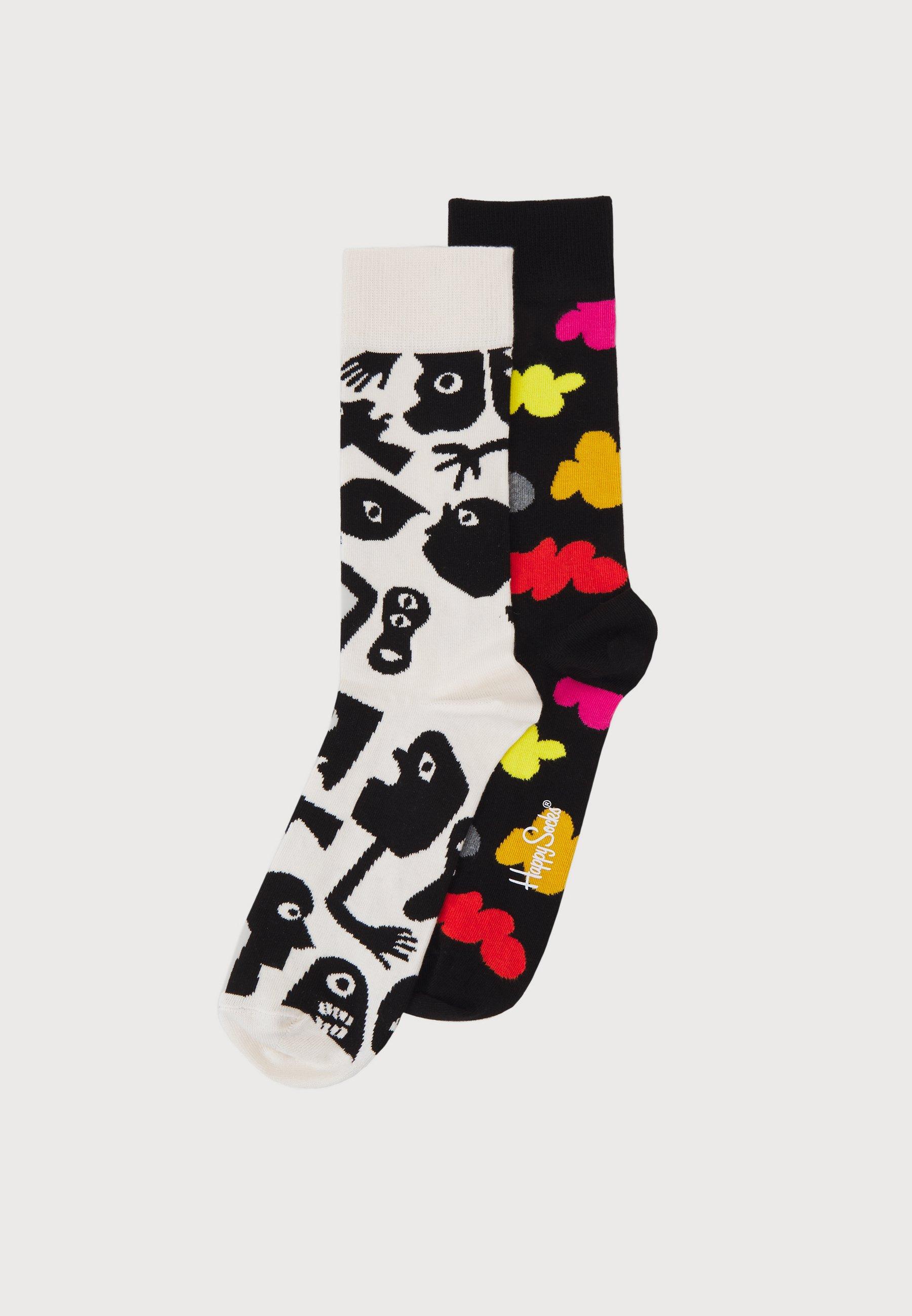 Men NIGHTMARE AND CLOUDY 2 PACK UNISEX - Socks