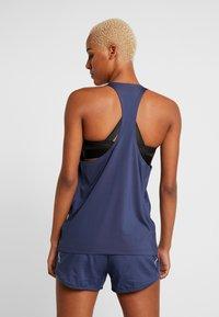 adidas Performance - TECH BOS TANK - Camiseta de deporte - tech indigo/white - 2