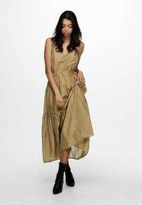 ONLY - ONLVIVI DRESS - Maxi dress - elmwood - 1