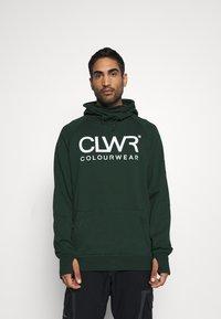 COLOURWEAR - BOWL HOOD - Sweater - green - 0