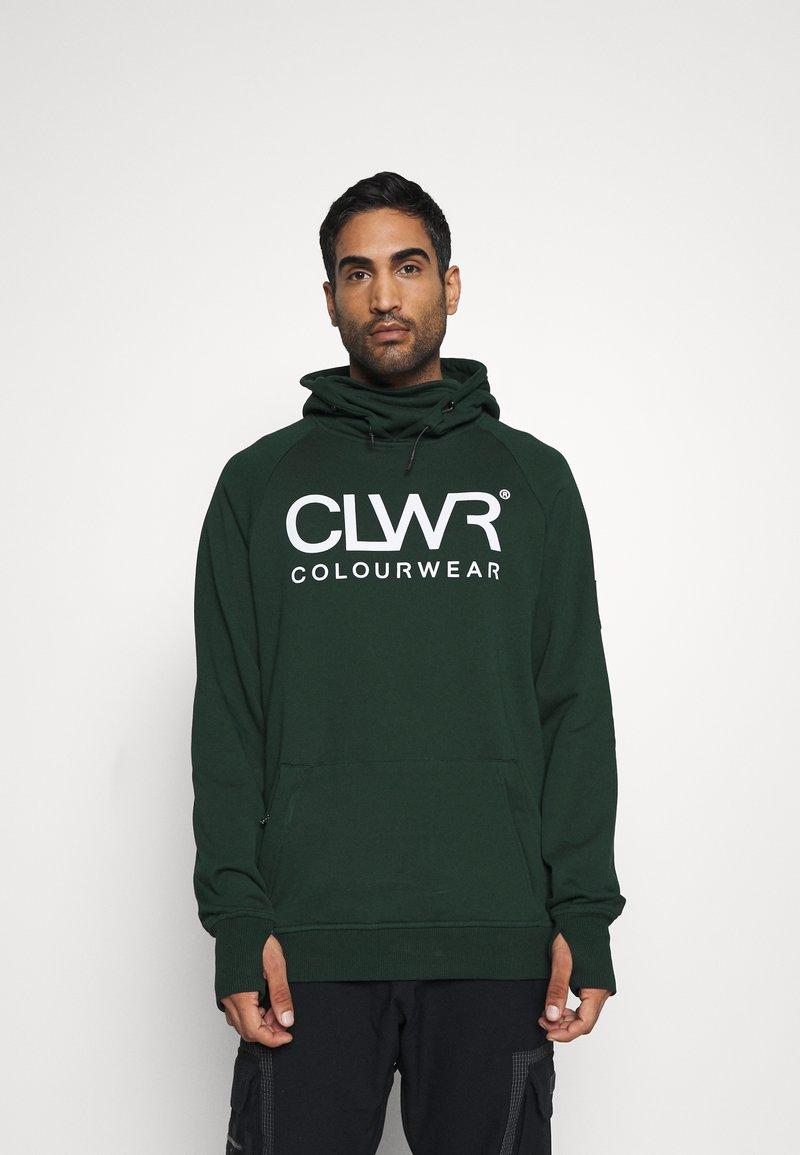 COLOURWEAR - BOWL HOOD - Sweater - green