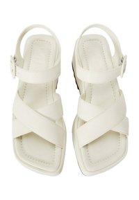 Mango - SPICY1 - Platform sandals - cremeweiß - 0