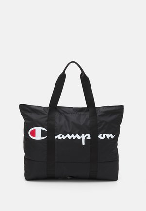 LARGE SHOULDER UNISEX - Shopping bag - black