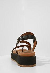 Inuovo - Platform sandals - black blk - 4