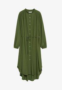 Mango - FARM - Shirt dress - green - 4