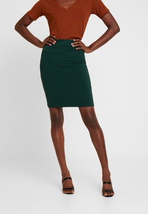 PENNY - Pouzdrová sukně - burnt green