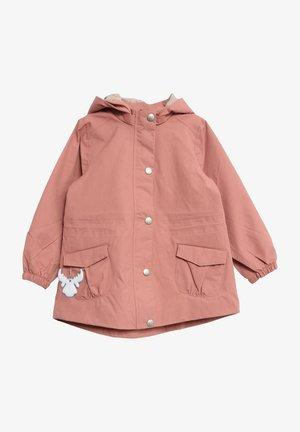 Waterproof jacket - antique rose