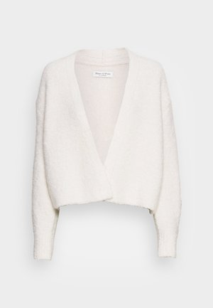 CARDIGAN LONGSLEEVE OPEN FRONT - Cardigan - chalky sand
