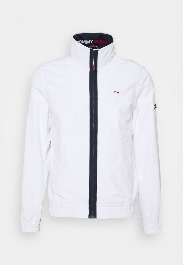 ESSENTIAL CASUAL  - Chaqueta fina - white