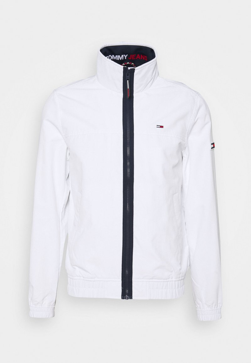 Tommy Jeans - ESSENTIAL CASUAL  - Light jacket - white