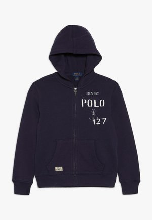 HOOD - Zip-up hoodie - french navy