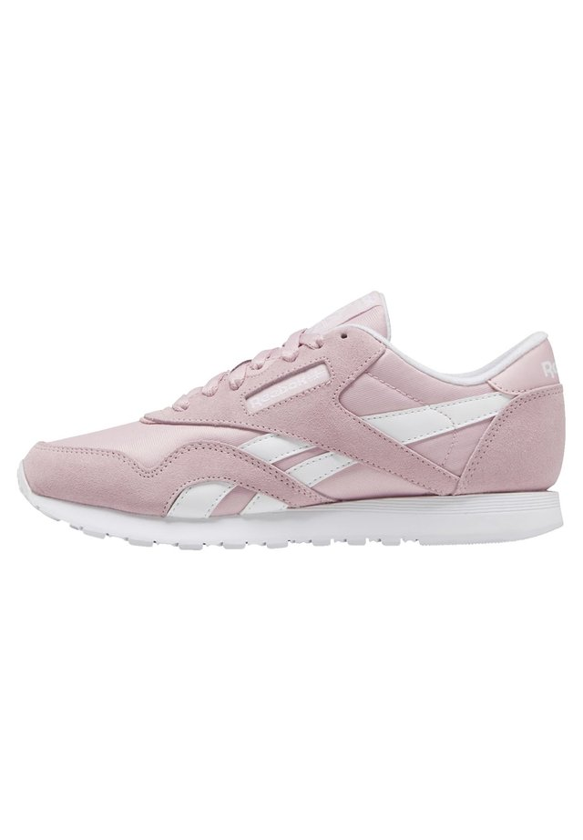 CLASSIC NYLON SHOES - Sneakers laag - pink