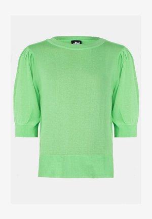 LIME KNIT - Longsleeve - green