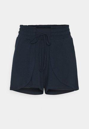 DOUBLE LAYER PETAL HEM SHORT - Sports shorts - navy