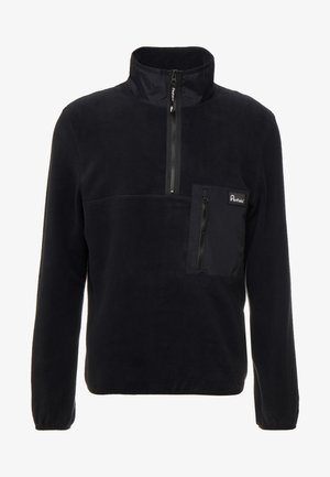 HYNES - Fleece jumper - black
