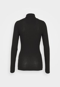 New Look Tall - WIDE ROLL NECK - Long sleeved top - black - 1