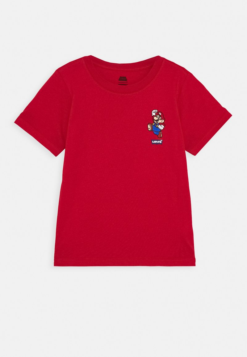 Levi's® - IT'S A ME MARIO TEE  - T-shirt print - gym red