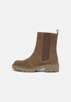 GAJO - Platform ankle boots - taupe