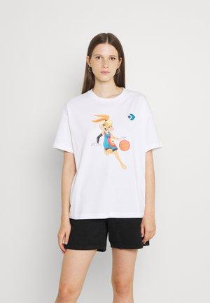 OVERSIZED TEE WOMEN - T-Shirt print - white
