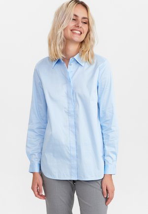 NULUCY - Button-down blouse - airy blue
