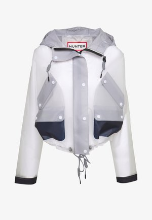 WOMENS ORIGINAL HERO CROPPED SMOCK - Waterproof jacket - white/navy/limpit