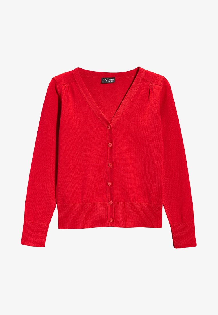 Next - Strikjakke /Cardigans - red