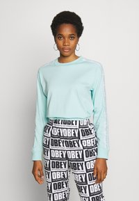 Obey Clothing - SONIC CREW - Long sleeved top - sky high - 0