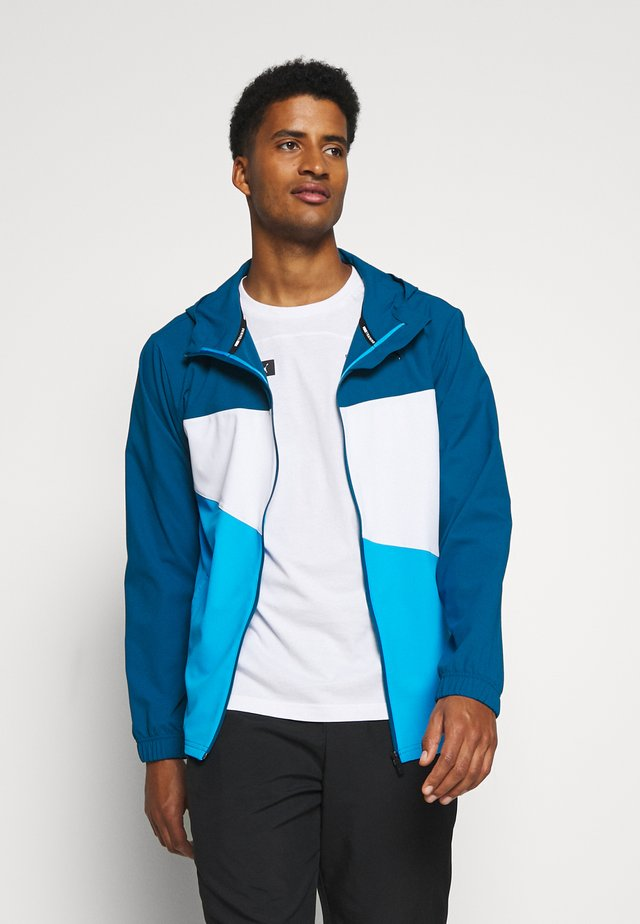 TRAIN VENT JACKET - Giacca sportiva - digi-blue