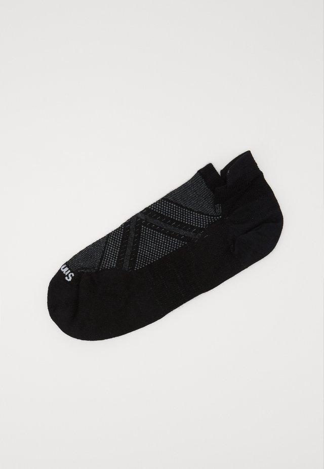 PHD RUN MICRO BLACK - Sportssokker - black