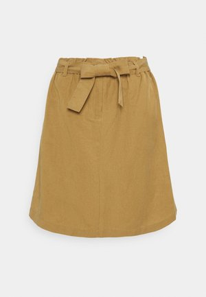 SKIRT PAPERBAG STYLE - Mini skirt - sandy beach