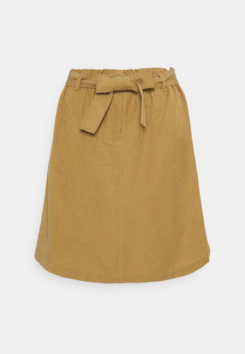 Marc O'Polo - SKIRT PAPERBAG STYLE - Mini skirt - sandy beach