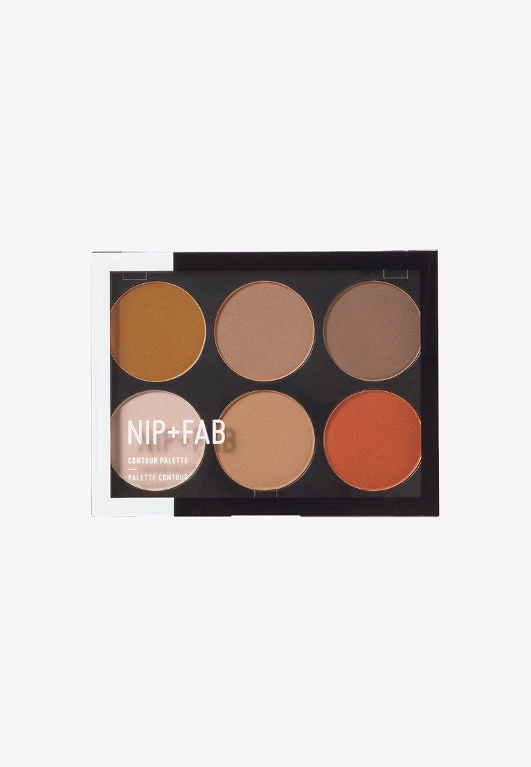 Nip+Fab - CONTOUR PALETTE - Face palette - dark