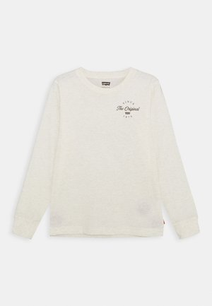 GRAPHIC TEE UNISEX - Long sleeved top - white