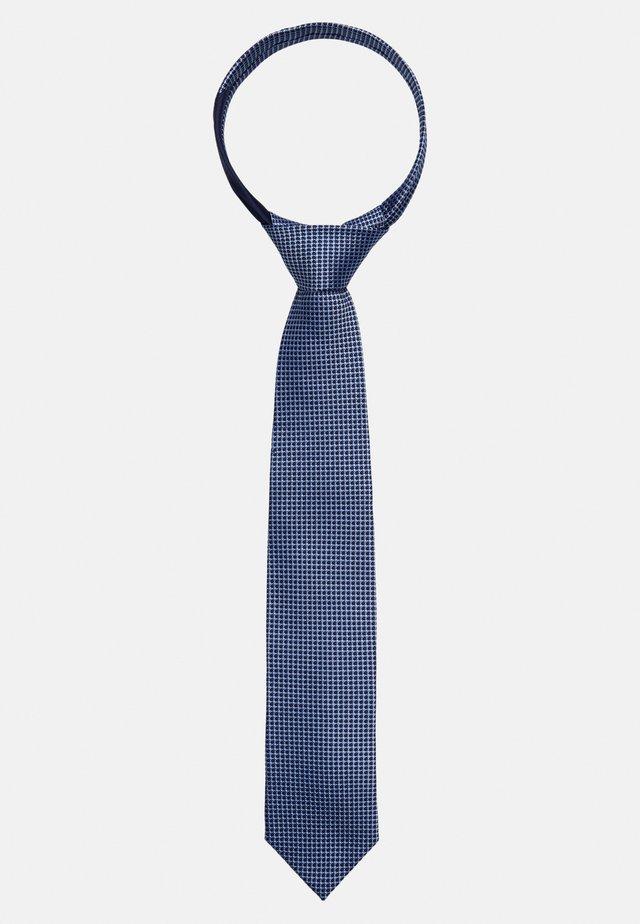 MICRO DESIGN TIE - Slips - blue