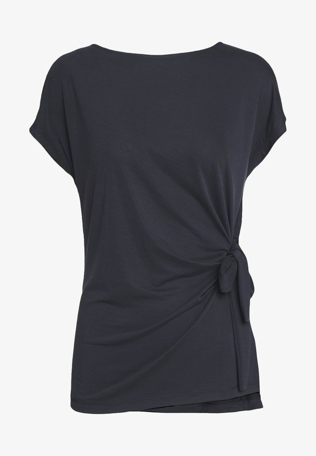 KARUKI - Print T-shirt - anthracite