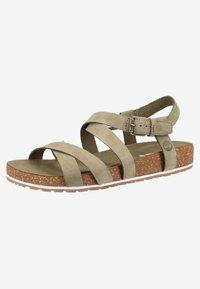 Timberland - Platform sandals - olive - 2