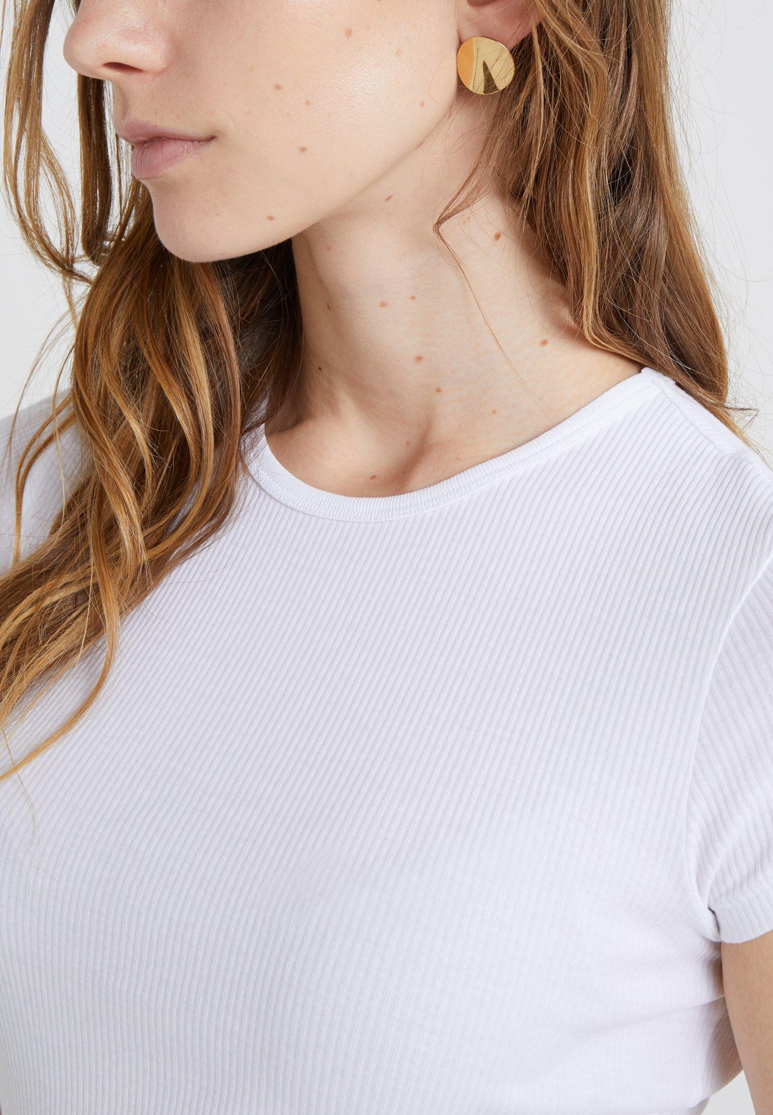 Shopping Women's Clothing Filippa K FINE TEE Basic T-shirt white S9ZSql7o9
