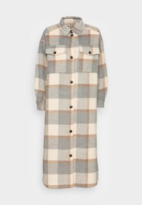 Stella Nova - EMMY JOE - Classic coat - grey/creme/brown - 3