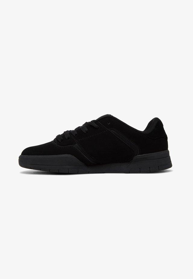 CENTRAL - Skateschoenen - black/black