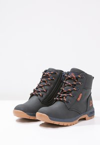 Kappa - CAMMY  - Hiking shoes - navy/orange - 2