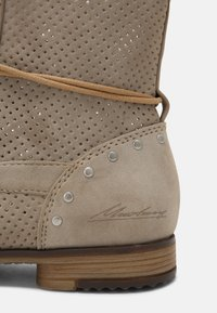 Mustang - Lace-up ankle boots - beige - 7
