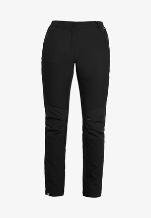 WOMENS QUESTRA - Pantalones montañeros largos - black